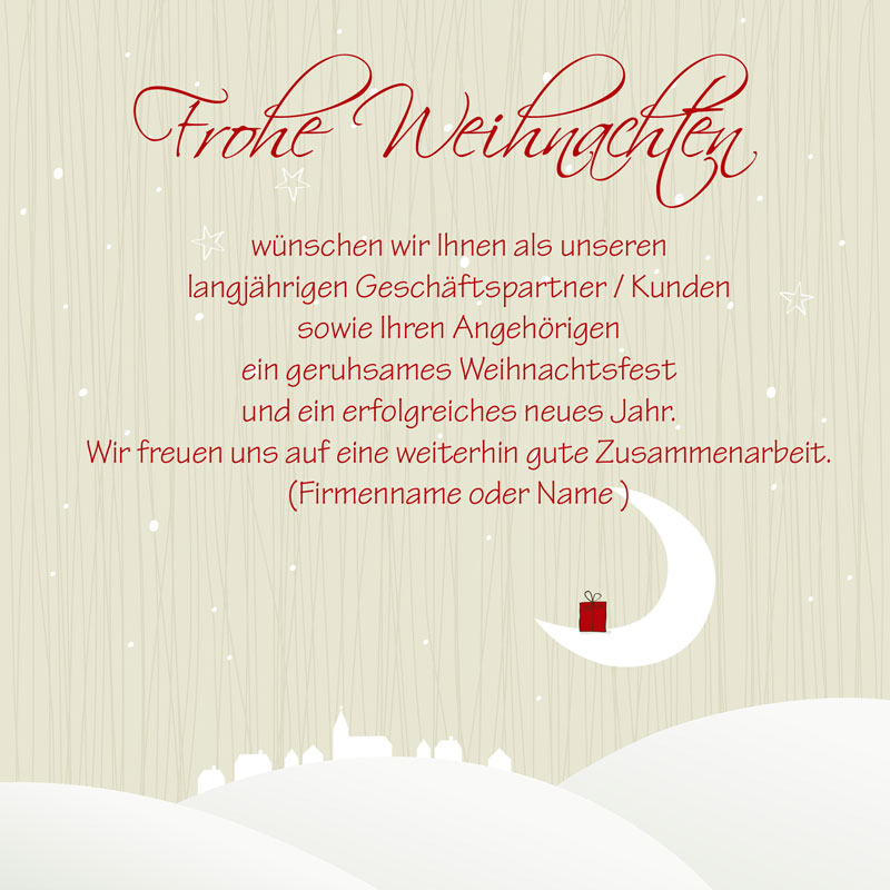 weihnachtskarten mit eigenem bild text oder logo. Black Bedroom Furniture Sets. Home Design Ideas