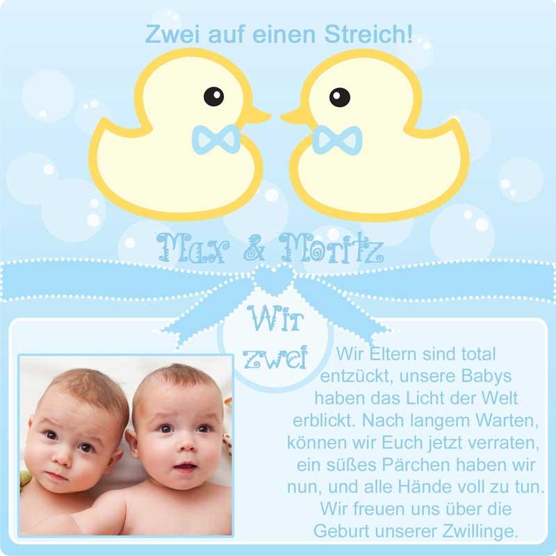 Dankeskarten Zur Geburt Babykarten Geburtsanzeigen