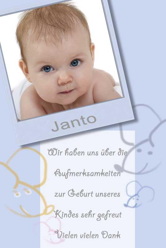 geburtskarten dankeskarten geburt babykarten jungen. Black Bedroom Furniture Sets. Home Design Ideas