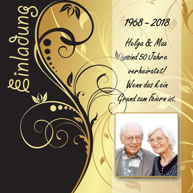 Detailseite-GoldeneHochzeit-Einladungen - Dankeskarten-Shop