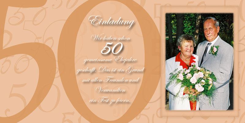 Einladung U0026 Einladungskarten Goldene Hochzeit   Dankeskarten Shop,  Einladungs