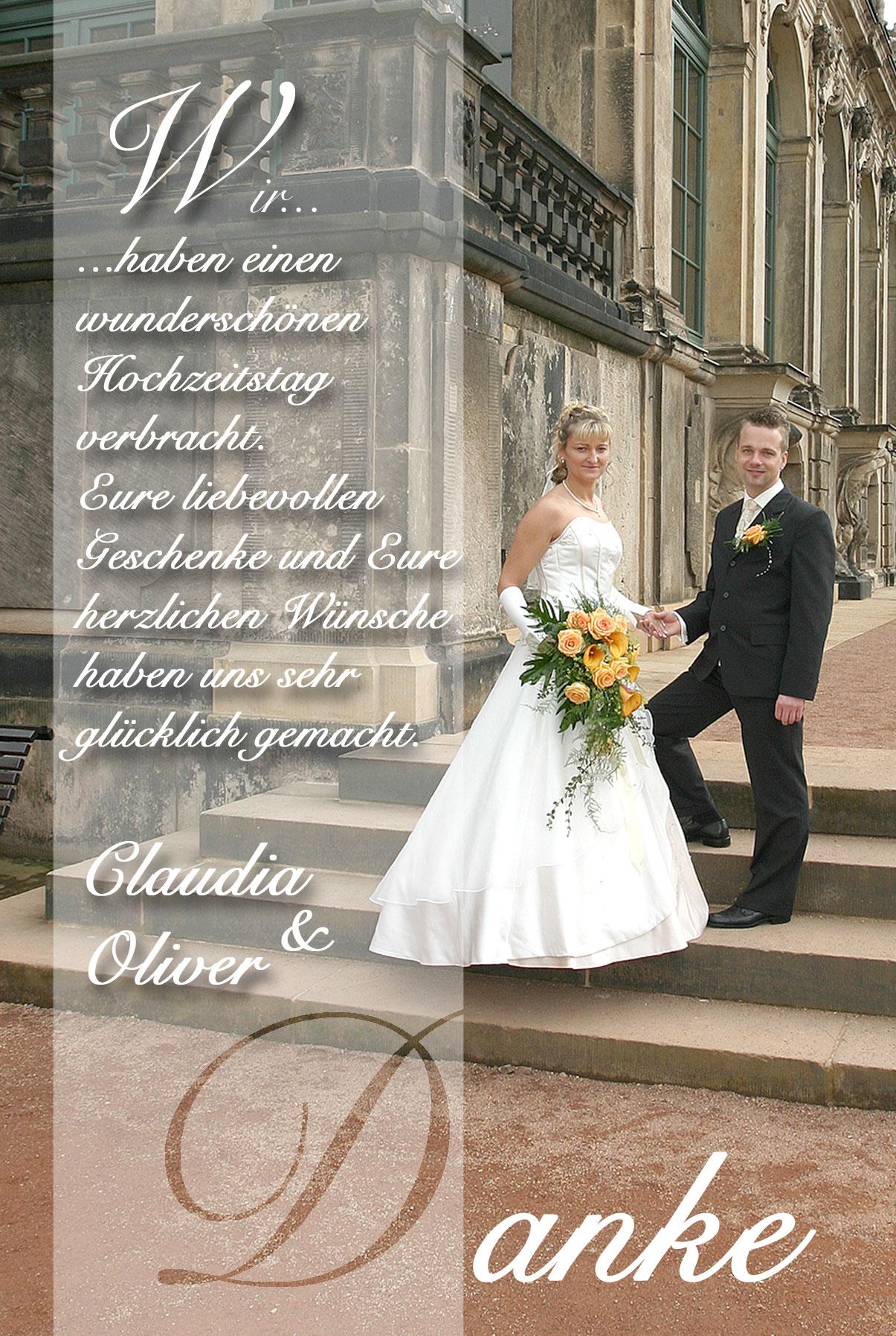 Dankeskarten Danksagungen Hochzeit Dankeskarten Shop