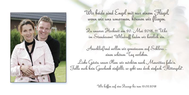 Einladungen Hochzeit & Einladungskarten Hochzeit - Dankeskarten-Shop