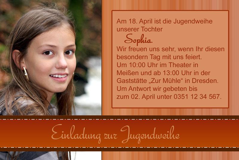 Vorlagen Einladungskarten Jugendweihe Kostenlos Vorlagen: Einladungskarten Jugendweihe, Einladung Jugendweihe